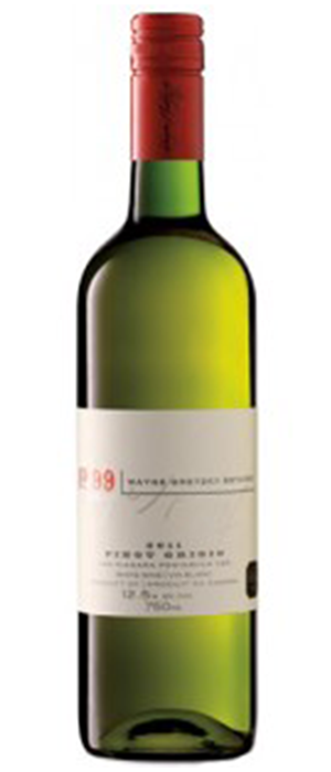 Wayne Gretzky Estates No.99 2012 Pinot Grigio Bottle