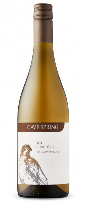 Cave Spring 2016 Pinot Gris Bottle