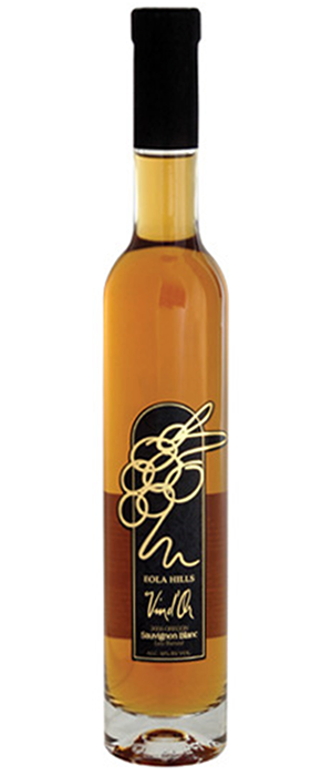 Vin d'Or Late Harvest Sauvignon Blanc Bottle