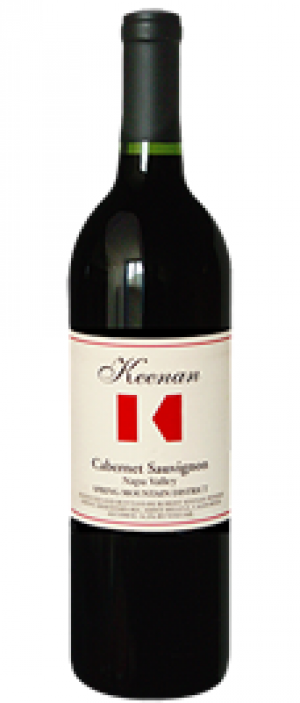 Robert Keenan Winery 2013 Cabernet Sauvignon Bottle
