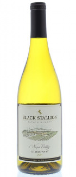 Black Stallion Estate Winery 2014 Chardonnay Bottle