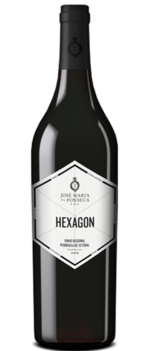 Hexagon Red Bottle