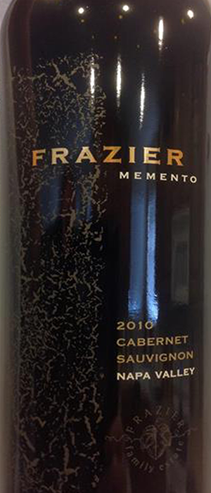 MEMENTO Cabernet Bottle