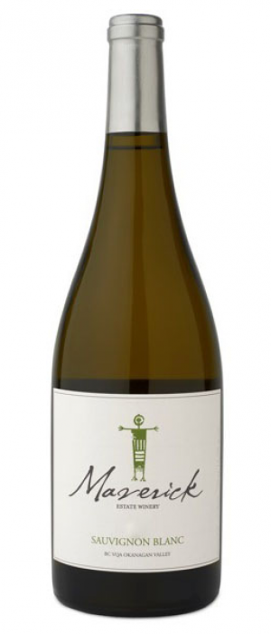 Maverick Estate Winery 2017 Sauvignon Blanc Bottle