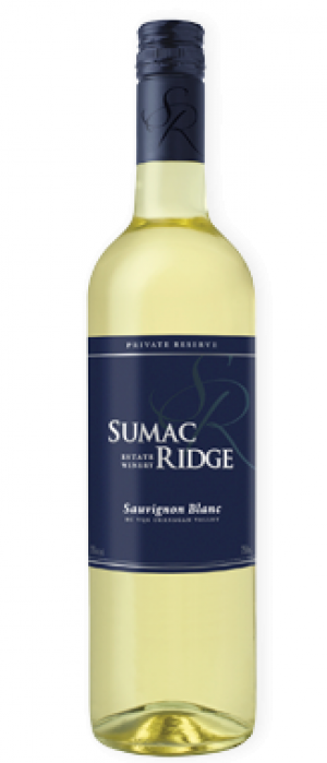 Sumac Ridge Estate Winery 2016 Sauvignon Blanc Bottle