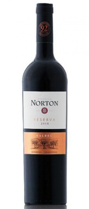 Bodega Norton Reserva 2010 Malbec Bottle