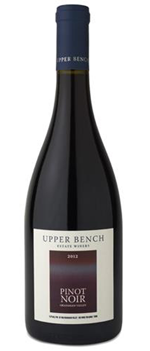 Upper Bench 2012 Pinot Noir Bottle