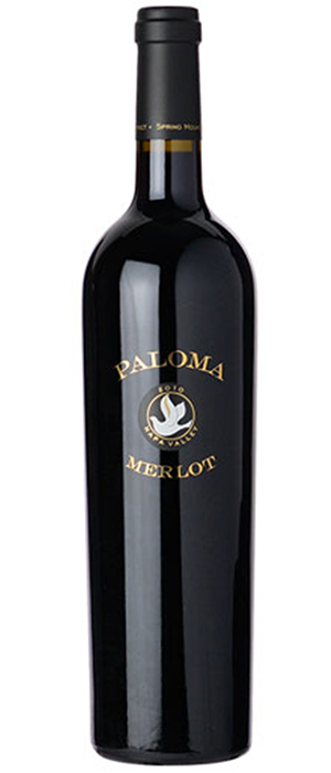 Paloma Vineyard 2010 Merlot | Red Wine