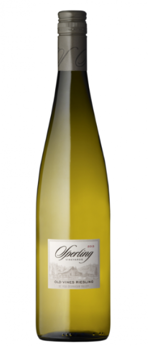 Sperling Vineyards 2014 Old Vines Riesling Bottle