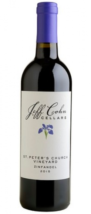 Jeff Cohn Cellars 2015 St. Peter's Church Vineyard Zinfandel | Red Wine
