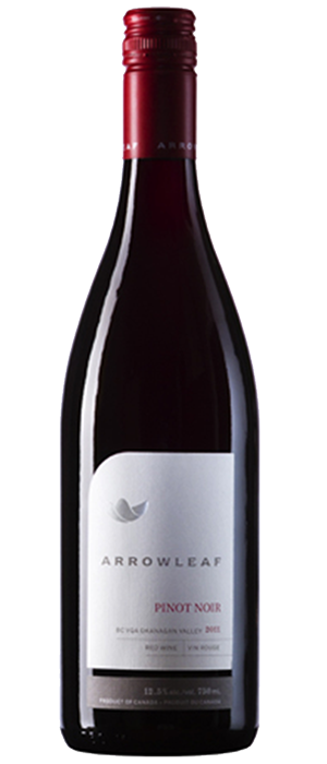 Arrowleaf Cellars 2012 Pinot Noir Bottle