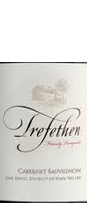 Trefethen Family Vineyards 2011 Cabernet Sauvignon Bottle