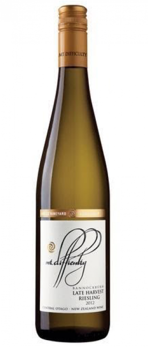 Mt. Difficulty 2013 Bannockburn, Long Gully, Late Harvest Riesling | White Wine