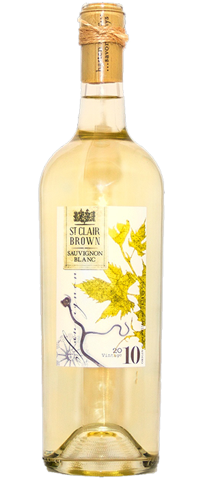 St. Clair Brown 2010 Sauvignon Blanc Bottle