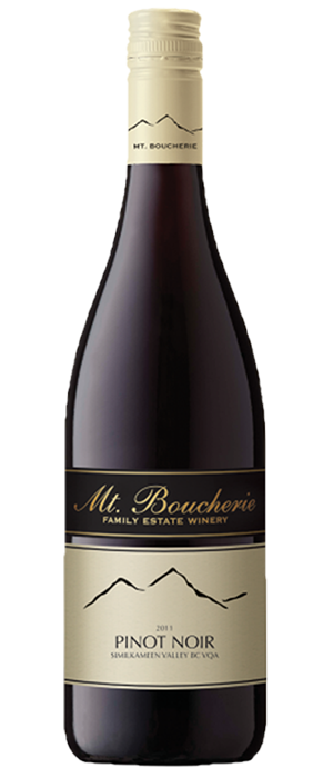 Mt. Boucherie Winery 2011 Pinot Noir | Red Wine
