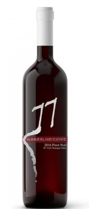 Summerland Estate Winery and B&B 2016 Pinot Noir Bottle