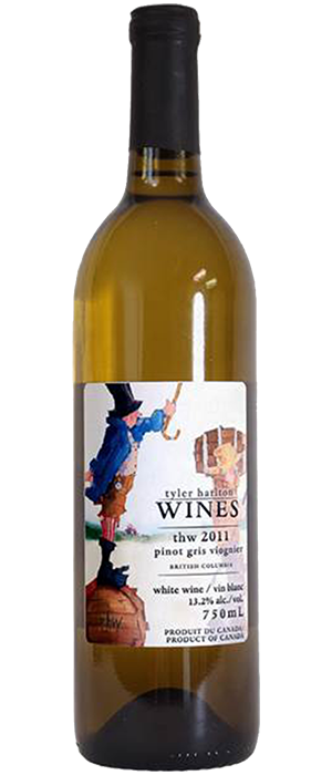 TH Wines 2011 Pinot Gris (Grigio) blend Bottle