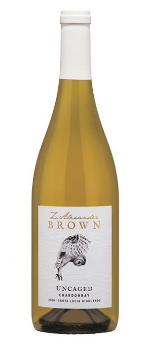 Z. Alexander Brown Wines 2016 Uncaged Chardonnay Bottle