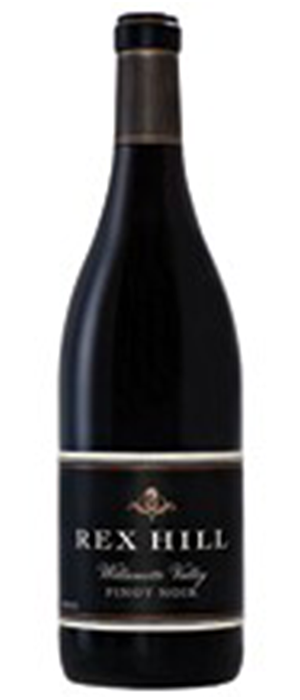 REX HILL Willamette Valley Pinot Noir Bottle