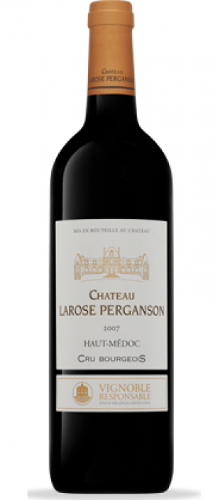 Chateau Larose Perganson 2007 Bottle