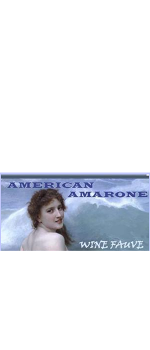 American Amerone Bottle