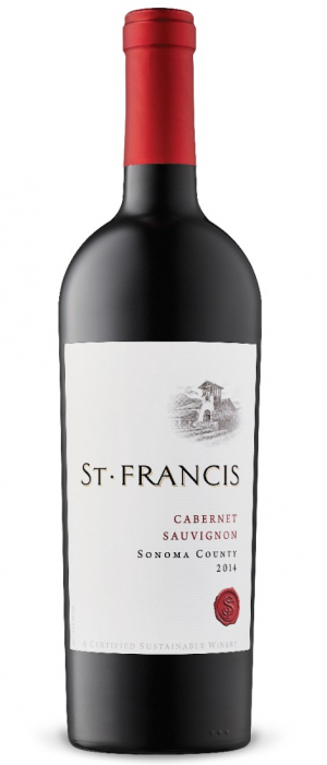 St. Francis Winery and Vineyards 2014 Cabernet Sauvignon | Red Wine