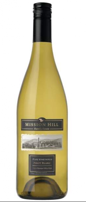Mission Hill  2012 Five Vineyards Pinot Blanc Bottle