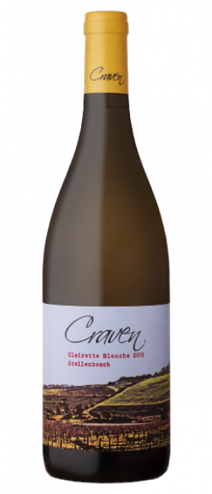 Craven 2017 Clairette Blanche Bottle