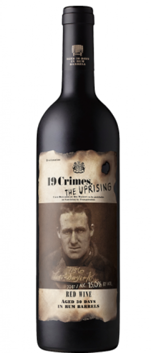 19 Crimes The Uprising 2016 Red Wine Bottle