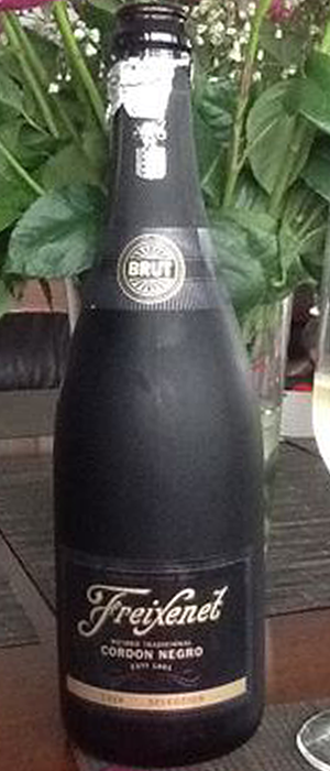Cordón Negro Bottle