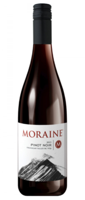 Moraine Estate Winery 2013 Pinot Noir Bottle