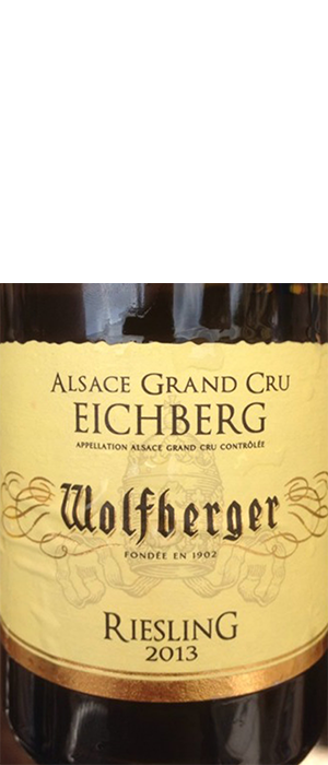 Wolfberger 2013 Riesling Bottle