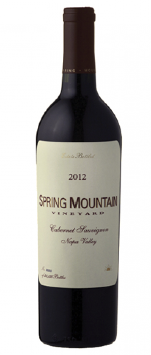 Spring Mountain Vineyards 2012 Estate Cabernet Sauvignon Bottle