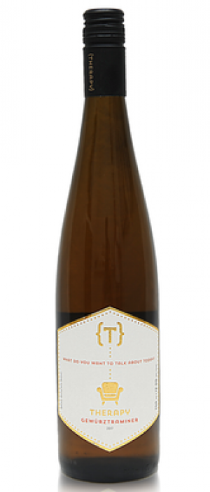 Therapy Vineyards 2017 Gewürztraminer Bottle