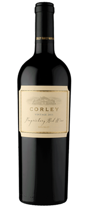 CORLEY Proprietary Red Wine Bottle