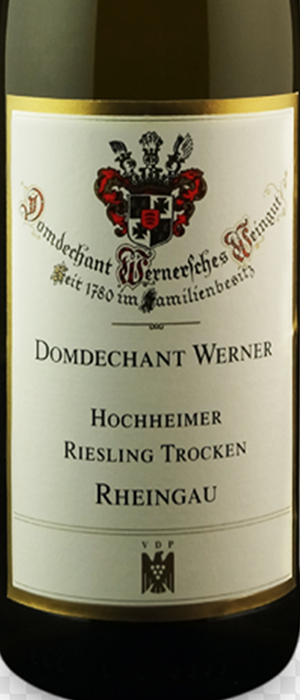Domdechant Werner'sches Weingut 2013 Riesling Bottle