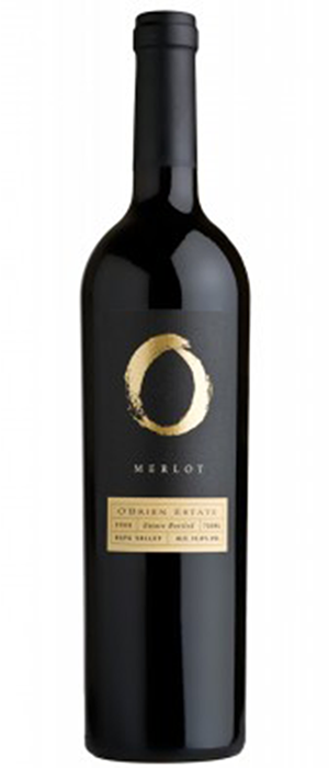 O'Brien 2005 Merlot Bottle
