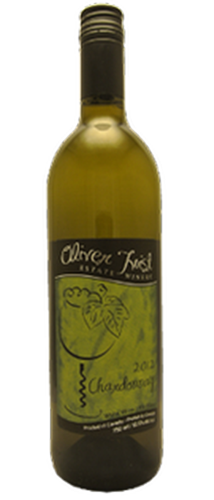 Oliver Twist Estate Winery 2013 Chardonnay Bottle