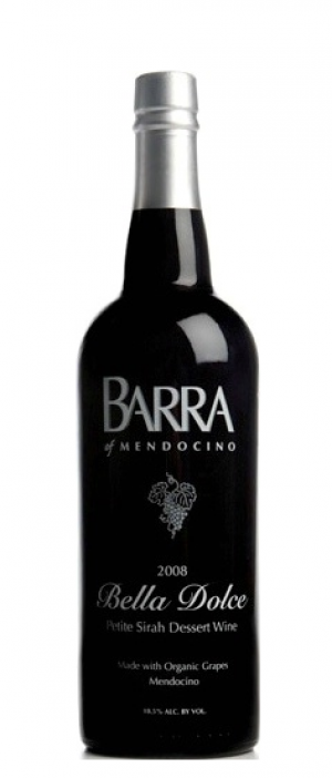 Barra of Mendocino Bella Dolce 2008 Petit Sirah Dessert Wine | Red Wine