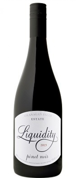 Liquidity Estate 2015 Pinot Noir Bottle