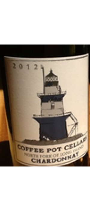Coffee Pot Cellars 2012 Chardonnay Bottle