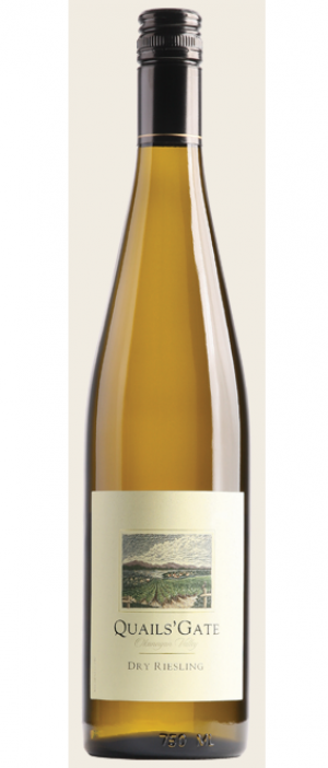 Quails' Gate 2014 Dry Riesling Bottle