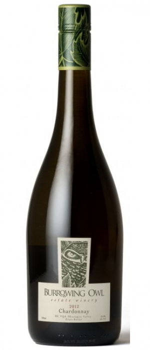 Burrowing Owl Estate Winery 2012 Chardonnay Bottle