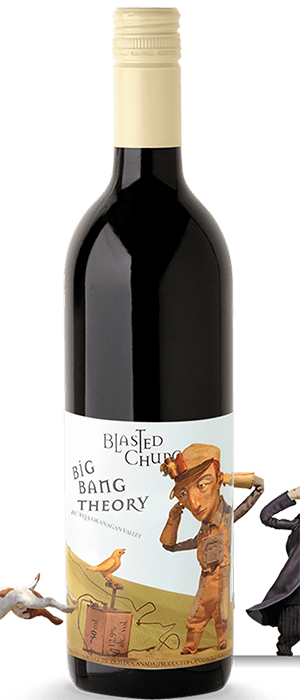 Blasted Church Big Bang Theory 2013 Bottle