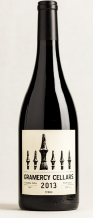 Gramercy Cellars 2013 Syrah Bottle