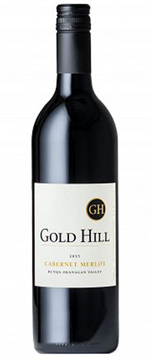 Gold Hill 2013 Cabernet/Merlot Blend Bottle