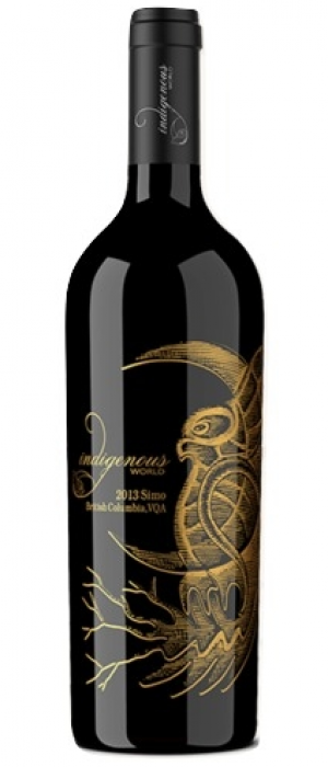 "Indigenous World Winery 2013 Simo ""See-Moo"" ~ Small Lot Red Blend Bottle"