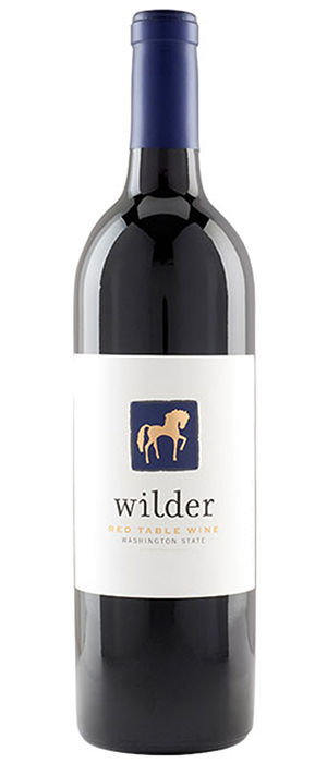 Wilder Red Table Wine Bottle