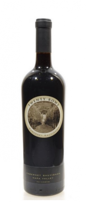 Twenty Rows 2011 Cabernet Sauvignon Bottle