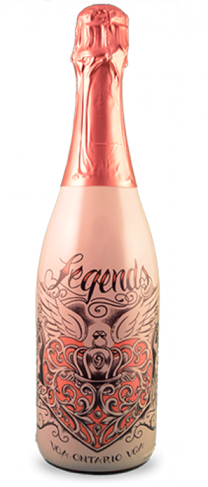 Legends Estates Winery Love Potion Sparkling Rosé Bottle